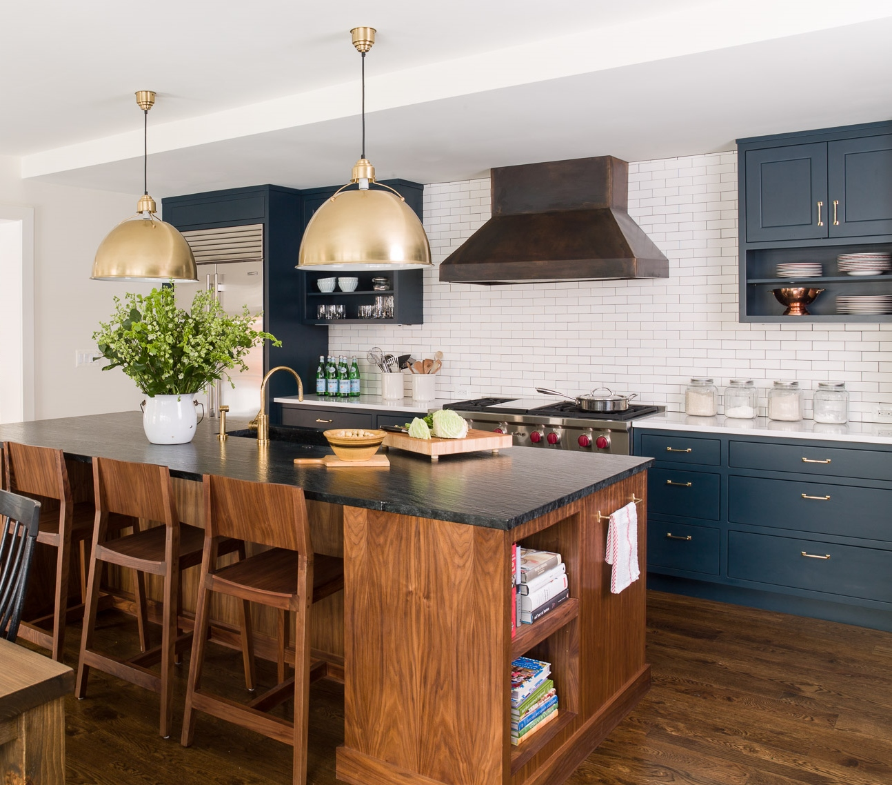 Navy Blue Kitchens That Look Cool And: A Navy Kitchen Reveal